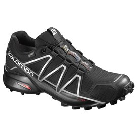 Salomon Shoes Speedcross 4 GTX Black/Black/SI 2018L38318100