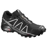 Salomon Shoes Speedcross 4 GTX Black/Black/SI 2019