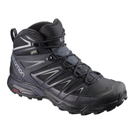 Salomon Shoes X Ultra 3 Mid GTX Bk/India Ink/M 2019