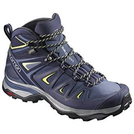 Salomon Shoes X Ultra 3 Mid GTX W Crown Blue/E 2019