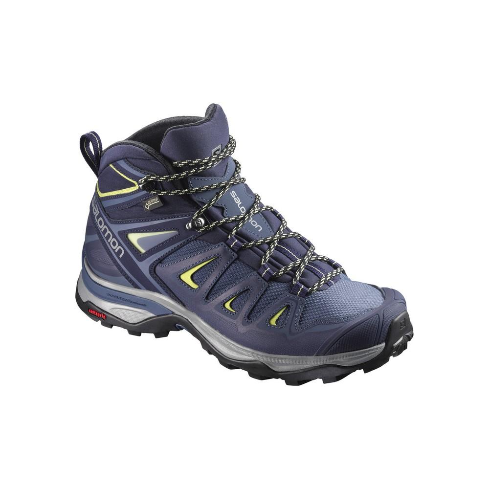 Salomon Shoes X Ultra 3 Mid Gtx W Crown Blue/E 2018L39869100