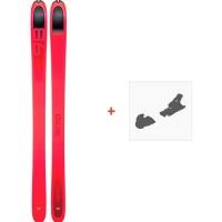 Ski Dynafit Beast 98 Women 2019 + Fixation de ski08-0000048465