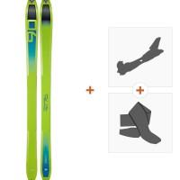 Ski Dynafit Speed 90 2019 + Fixations randonnée + Peau08-0000048458