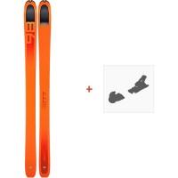 Ski Dynafit Beast 98 2019 + Fixation de ski08-0000048464