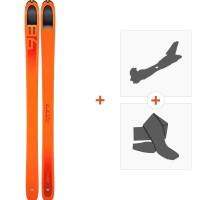 Ski Dynafit Beast 98 2019 + Fixations randonnée + Peau08-0000048464