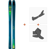 Ski Dynafit Speedfit 84 Women 2019 + Fixations randonnée + Peau08-0000048470