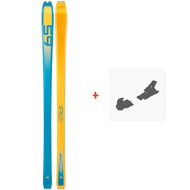 Ski Dynafit PDG Orange/Blue 2019 + Fixation de ski08-0000048468