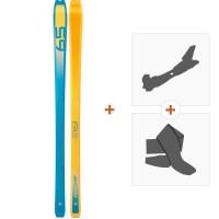Ski Dynafit PDG Orange/Blue 2019 + Tourenbindung + Felle08-0000048468