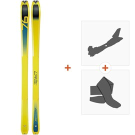 Ski Dynafit Speed 76 2019 + Alpine Touring Bindings + Climbing skin08-0000048457