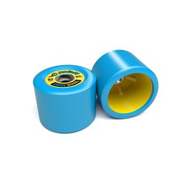 Mellow Drive Wheels (Set of 2 Roues) blue yellowMEL-WHL-DRI-01