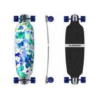 """Pumpkin Skateboards Mini Wing Rocker Splatter 74\\"""" - Complete302695037914"""