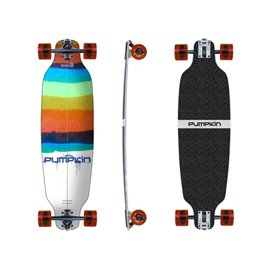 """Pumpkin Skateboards Mini Wing Camber Water Colors 74\\"""" - Complete302695037915"""