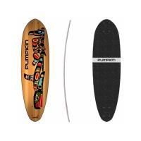 "Pumpkin Skateboards Cityflyer Totem 68\\"" - Deck Only302695037941"