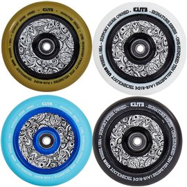 Elite Air Ride Floral Pro Scooter Wheel 110