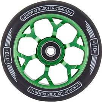 Longway Precinct 110mm Complete Pro Scooter Wheel Green 2018