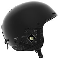 Salomon Casque de Ski Spell+ Black Marble 2020