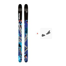 Ski Faction Prodigy 2.0 x 2019 + Fixation de ski