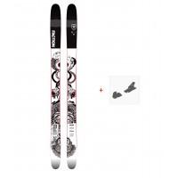 Ski Faction Prodigy 3.0 Colab 2019 + Fixation de ski