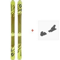 Ski Scott Superguide 105 2018 + Fixation de ski254209