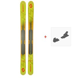 Ski Scott Scrapper 124 2019 + Fixation de ski266977