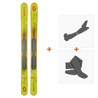 Ski Scott Scrapper 124 2019 + Fixations randonnée + Peau266977