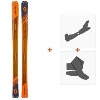 Ski Scott Speedguide 95 2019 + Fixations randonnée + Peau266982