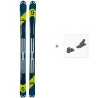 Ski Scott Superguide 95 2019 + Fixation de ski266986