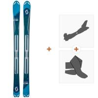 Ski Scott Women Superguide 88 2019 + Fixations randonnée + Peau266988