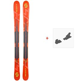Ski Scott Jr Scrapper 2019 + Fixation de ski266989