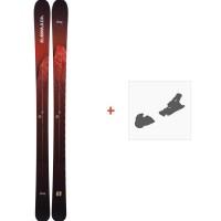 Ski Armada Invictus 95 2019 + Fixation de skiRAST00042