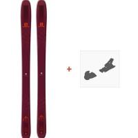 Ski Salomon N QST 106 2019 + Skibindungen