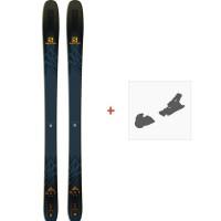 Ski Salomon N QST 99 2019 + Fixation de ski