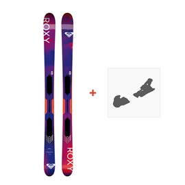 Ski Roxy Shima All Mountain Flat 2019 + Fixation de skiSKI-RX-SH-96