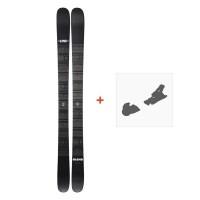 Ski Line Blend 2019 + Fixation de ski19C0006.101.1