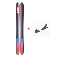 Ski Line Sick Day 114 2019 + fixation de ski19C0010.101