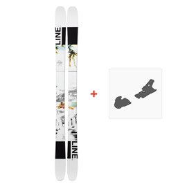 Ski Line Tom Wallisch Pro 2019 + Fixations de ski