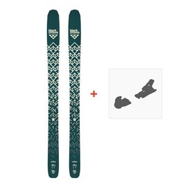 Ski Black Crows Anima 2019 + Fixation de ski100447