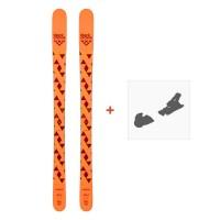 Ski Black Crows Magnis 2020 + fixation de ski100717