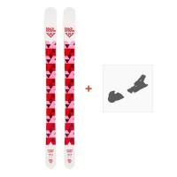 Ski Black Crows Magnis Birdie 2020 + fixation de ski100717