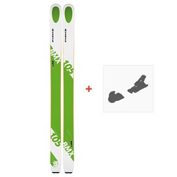 Ski Kastle BMX105 HP 2019 + Fixation de ski