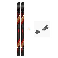 Ski K2 Wayback 80 2020 + Fixation de ski10C0204.101.1
