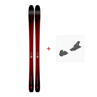 Ski K2 Pinnacle 85 2019 + Fixation de ski10C0104.101.1
