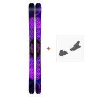 Ski K2 Empress 2019 + Fixation de ski10C0701.227.1