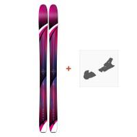 Ski K2 Gottaluvit 105 Ti 2019 + Fixation de ski10C0500.101.1