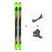 Ski K2 Wayback 88 2020 + Fixations randonnée + Peau10C0202.101.1