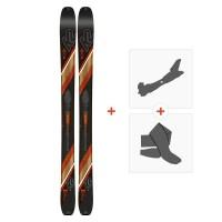 Ski K2 Wayback 106 2020 + Fixations randonnée + Peau10C0200.101.1