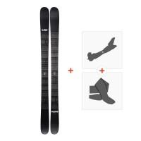 Ski Line Blend 2019 + Fixations de ski randonnée + Peau19C0006.101.1