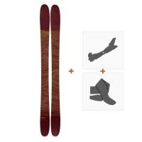 Ski Line Mordecai 2019 + Fixations randonnée + Peau19C0003.101.1
