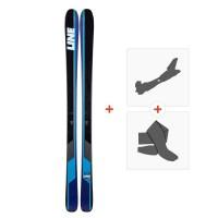 Ski Line Sick Day 88 2019 + Fixations randonnée + Peau19B0014.101