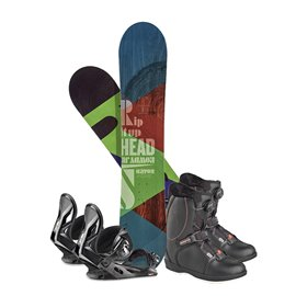 Snowboard Head Rowdy JR 2019 + Fixation + Chaussures336608
